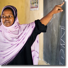 Image of Somali Teacher