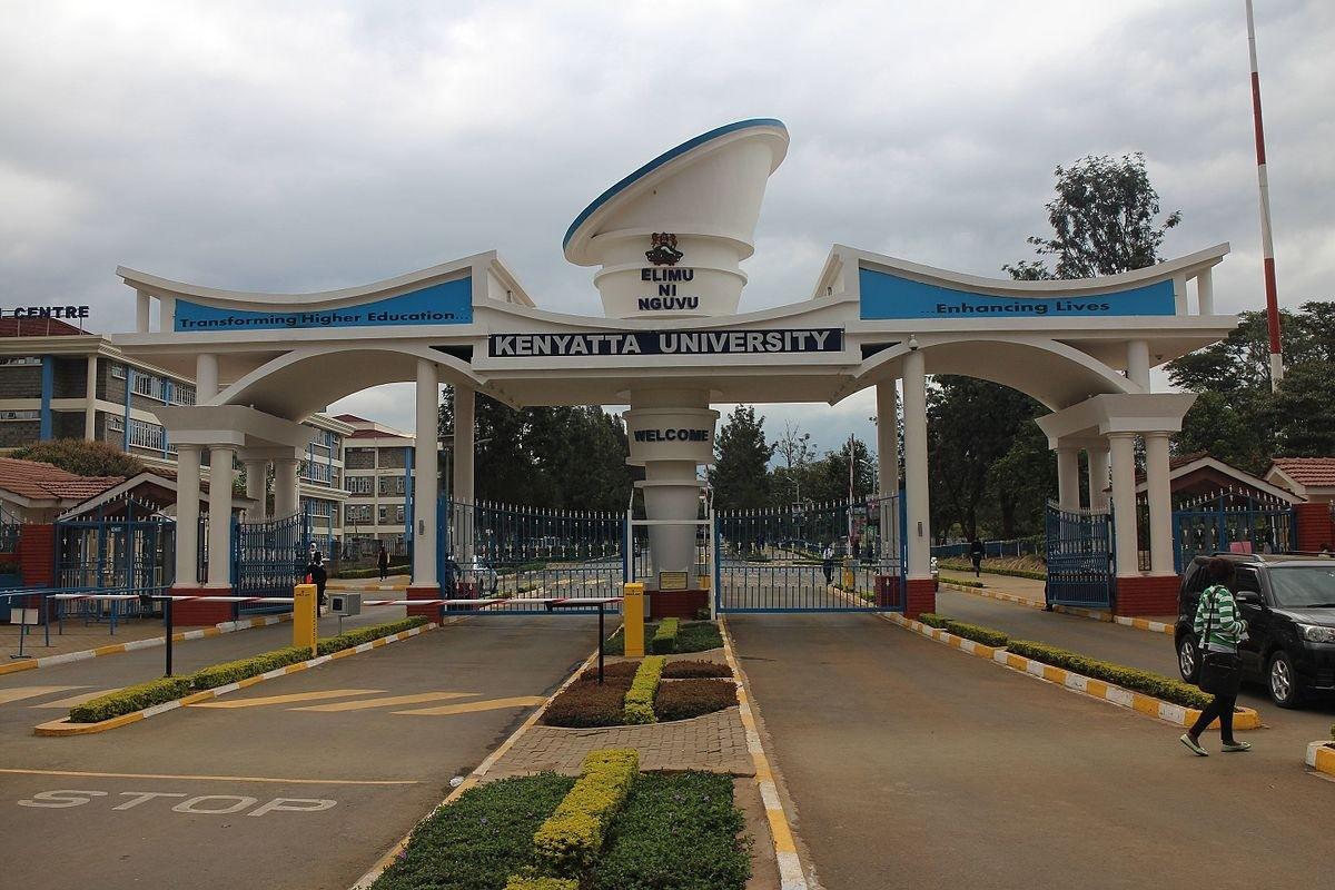 Entrance of the Kenyatta University, in Kenya ©Thorkild Tylleskar - Own work, CC BY-SA 4.0