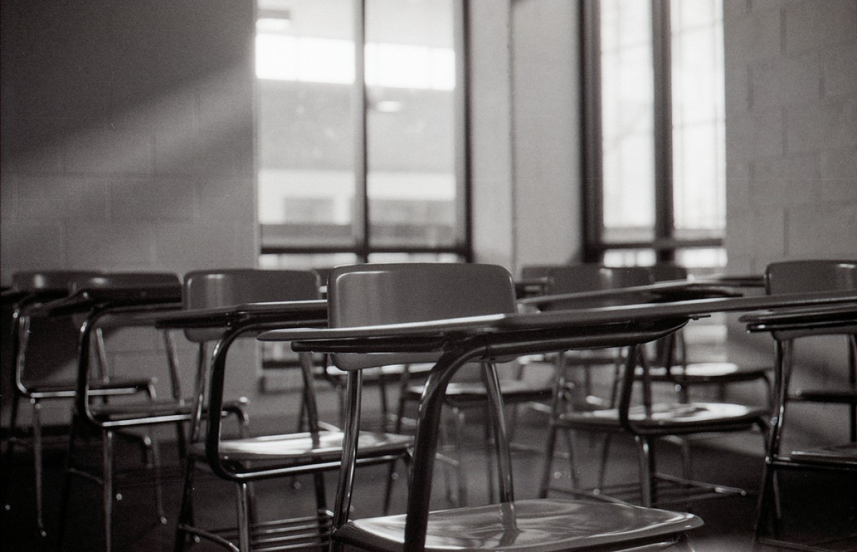 Flickr /  Empty classroom | by dharder9475