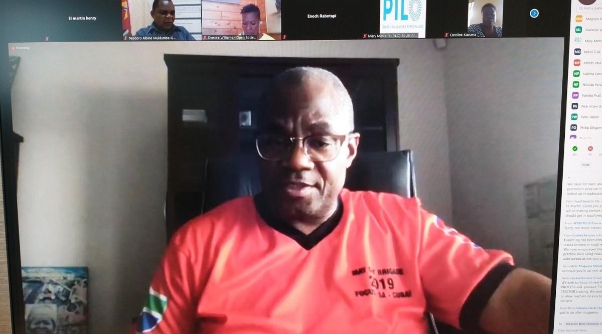 Mugwena Maluleke, EI Vice-President  for Africa.