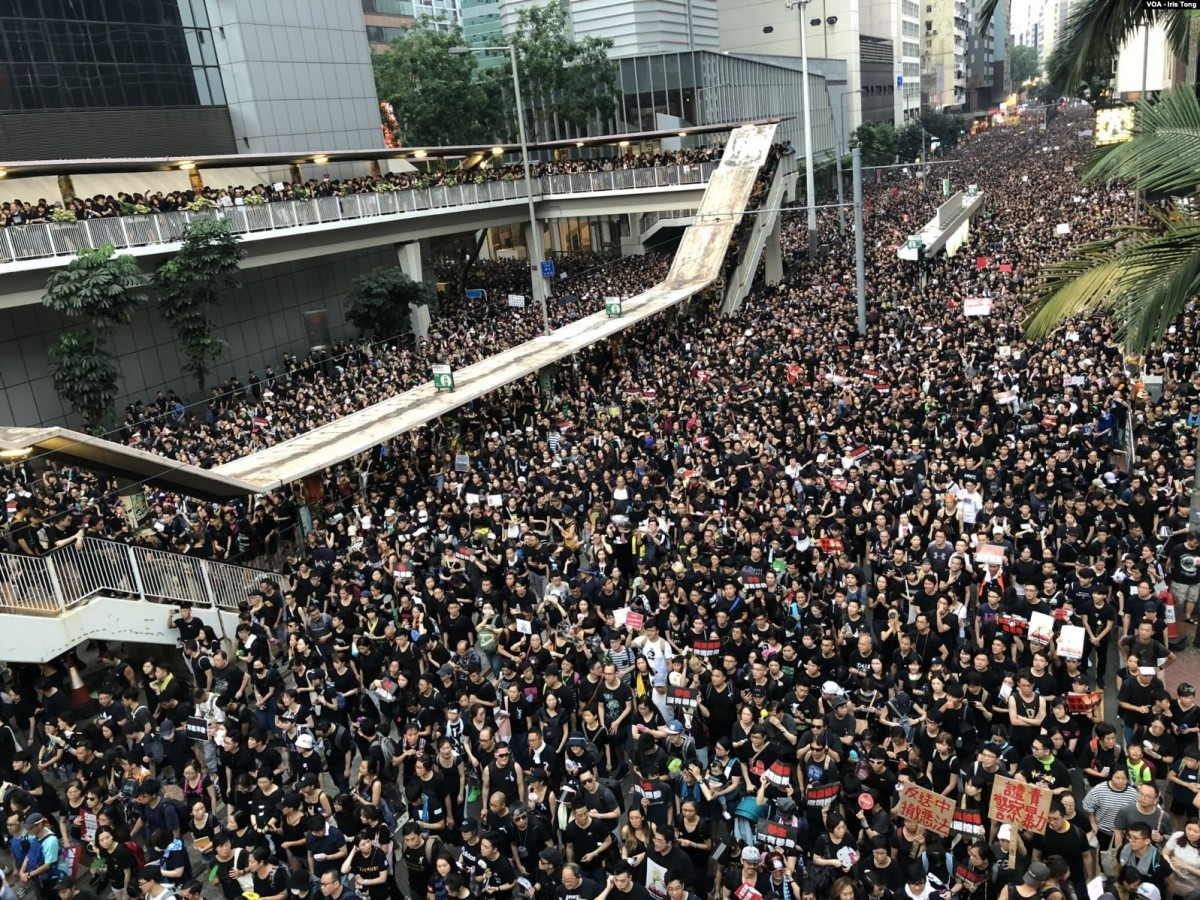 Hong Kong protests - Wikimedia Commons