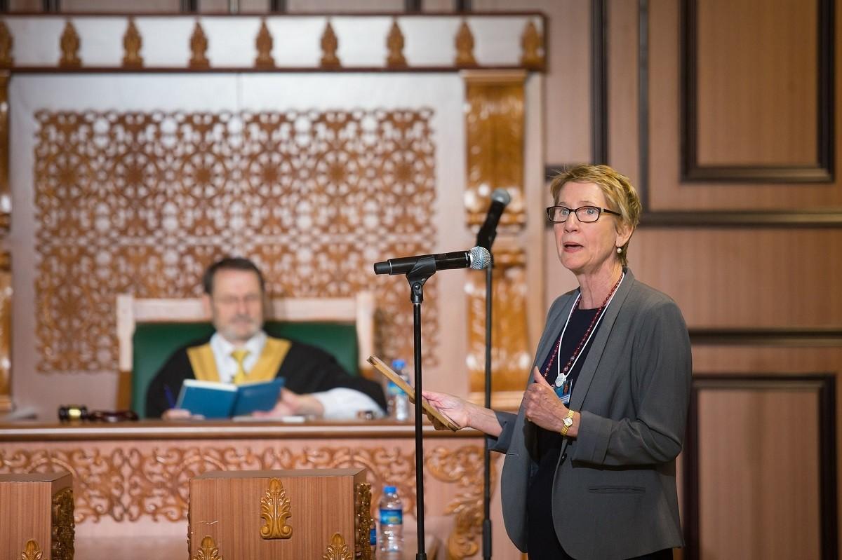 EI President Susan Hopgood. Credits: GESF