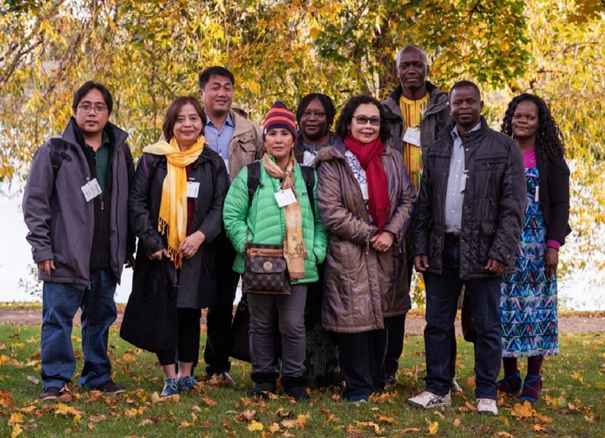 Internaitonal guests invited by Lärarförbundet/Sweden. Credit: Lärarförbundet