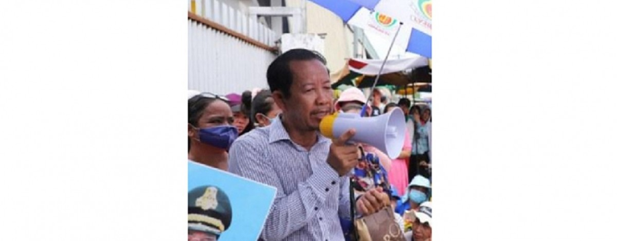Rong Chhun, president of the Cambodian Confederation of Unions (CCU). ©LabourStart