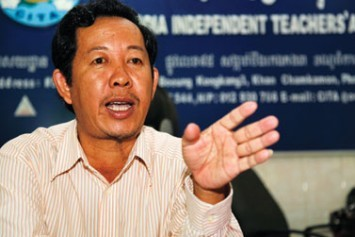 CITA President Rong Chhun