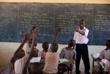 A teacher in Kenya. Photo: Karel Prinsloo/ARETE/UNESCO