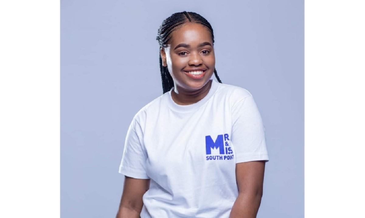 Sinethemba Hleza, beneficiary of the Mary Hatwood Futrell Scholarship.