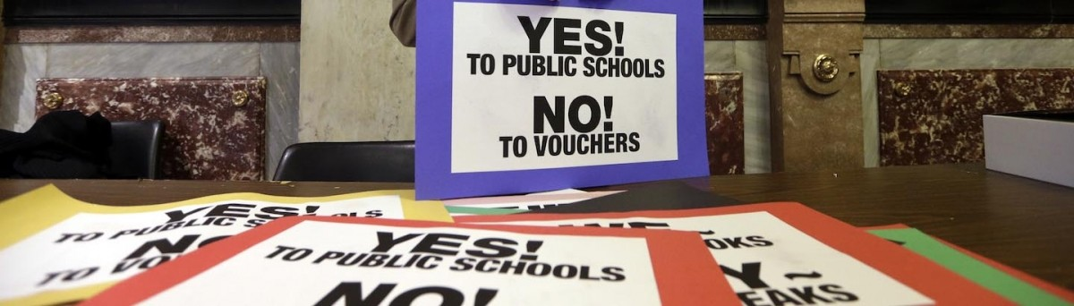 the controversy surrounding the use of school vouchers School vouchers are great they reward hard working students at bad school with the opportunity to go and get a good education at a decent school, it's not being prejudice it is rewarding good students.
